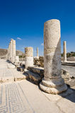 Ruins of Beit She'an Stock Photo