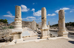 Ruins of Beit She'an Royalty Free Stock Photo