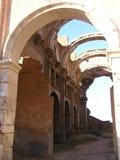 Ruins of Belchite Stock Photos