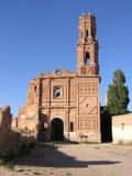 Ruins of Belchite Stock Photo