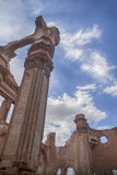 Ruins Belchite village destroyed by the bombing of the Spanish Civil War Royalty Free Stock Photos