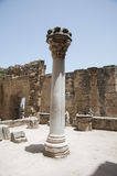 Ruins. The ruins of Bellapais Abbey - Turkish Cyprus Royalty Free Stock Photos