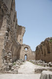Ruins. The ruins of Bellapais Abbey - Turkish Cyprus Royalty Free Stock Photo