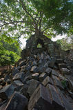 Ruins of Beng Mealea, Angkor, Cambodia Royalty Free Stock Photography