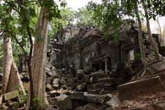 Ruins of Beng Mealea, Angkor, Cambodia Stock Images