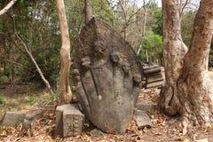Ruins of Beng Mealea, Angkor, Cambodia Royalty Free Stock Photography