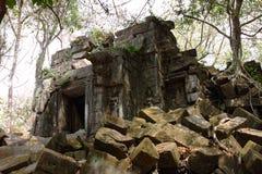 Ruins of Beng Mealea, Angkor, Cambodia Royalty Free Stock Photos