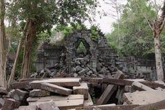 Ruins of Beng Mealea, Angkor, Cambodia Royalty Free Stock Image