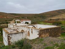 Ruins in Betancuria on Fuerteventura Stock Photography