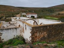 Ruins in Betancuria on Fuerteventura Royalty Free Stock Photography