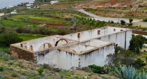Ruins in Betancuria on Fuerteventura in Spain Stock Photography