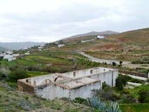 Ruins in Betancuria on Fuerteventura in Spain Stock Photo