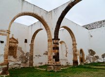 Ruins in Betancuria on Fuerteventura in Spain Royalty Free Stock Image