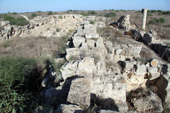 Ruins in Salamis Stock Image