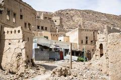 Ruins Birkat al mud Royalty Free Stock Photography