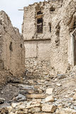 Ruins Birkat al mud Stock Photography