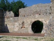 Ruins of bishops palace Royalty Free Stock Photography