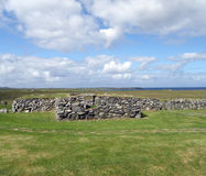 Ruins, Blackhouse, Arnol, Isle of Lewis Royalty Free Stock Image