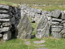 Ruins, Blackhouse, Arnol, Isle of Lewis Royalty Free Stock Photo