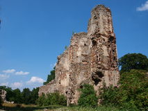 Ruins, Bodzentyn, Poland Royalty Free Stock Photos