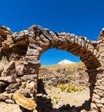 Ruins in Bolivia Royalty Free Stock Images
