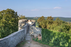 Ruins of Bolkow Castle in Poland Stock Photo