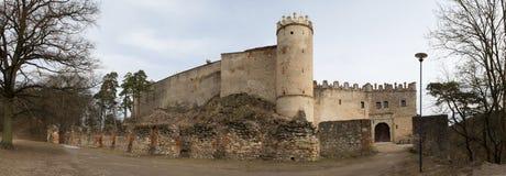 Ruins of Boskovice castle Stock Image