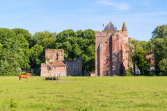 Ruins of Brederode Castle, Netherlands Royalty Free Stock Photography