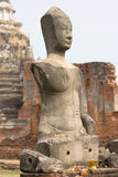 Ruins of Buddha Statue Royalty Free Stock Photography