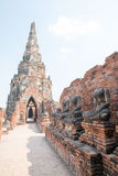 Ruins of Buddha statues Royalty Free Stock Photography