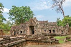 Ruins Building. In Angkor Complex Stock Photo