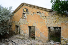 Ruins of building Royalty Free Stock Photography