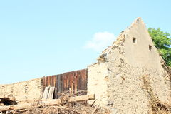 Ruins of a building Royalty Free Stock Photography