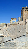 Ruins of Buildings Structure Inside Persepolis, Iran Stock Photos