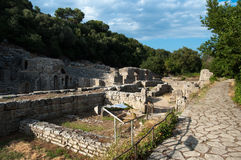 Ruins Of Butrint, Albania Royalty Free Stock Photos
