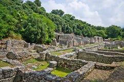 Ruins of Butrint, Albania Royalty Free Stock Photos