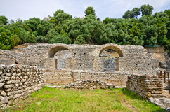 Ruins of Butrint, Albania Royalty Free Stock Photography