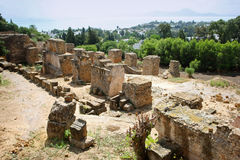 Ruins of Byrsa Royalty Free Stock Photography