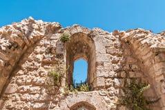 Ruins of Byzantine church in Jerusalem Stock Image