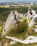 Ruins of Cachtice castle Stock Images