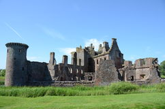 Ruins of Caerlaverock Castle Royalty Free Stock Image