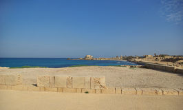 Ruins of Caesarea Stock Photos