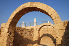 Ruins at Caesarea Israel Royalty Free Stock Photography