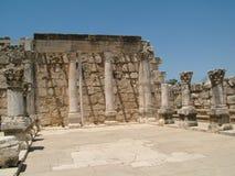 ruins Caesarea Maritima stock photos