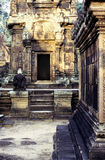 Ruins- Cambodia Royalty Free Stock Photos