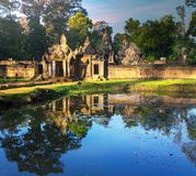 Ruins in Cambodia Royalty Free Stock Images