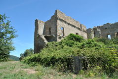 Ruins in Canale Monterano Stock Photo