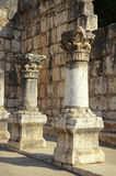 The ruins of Capernaum Stock Image