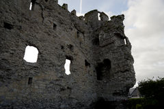Ruins of Carlow Castle. 31. August 2013: The ruins of Carlow Castle Royalty Free Stock Image