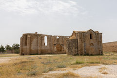 Ruins of Carmelite and Armenian Churches in Medieval Famagusta, Royalty Free Stock Images